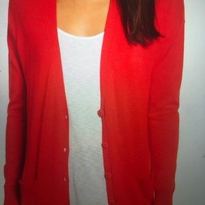 Halogen by Nordstrom Relaxed Pocket Cardigan Lg